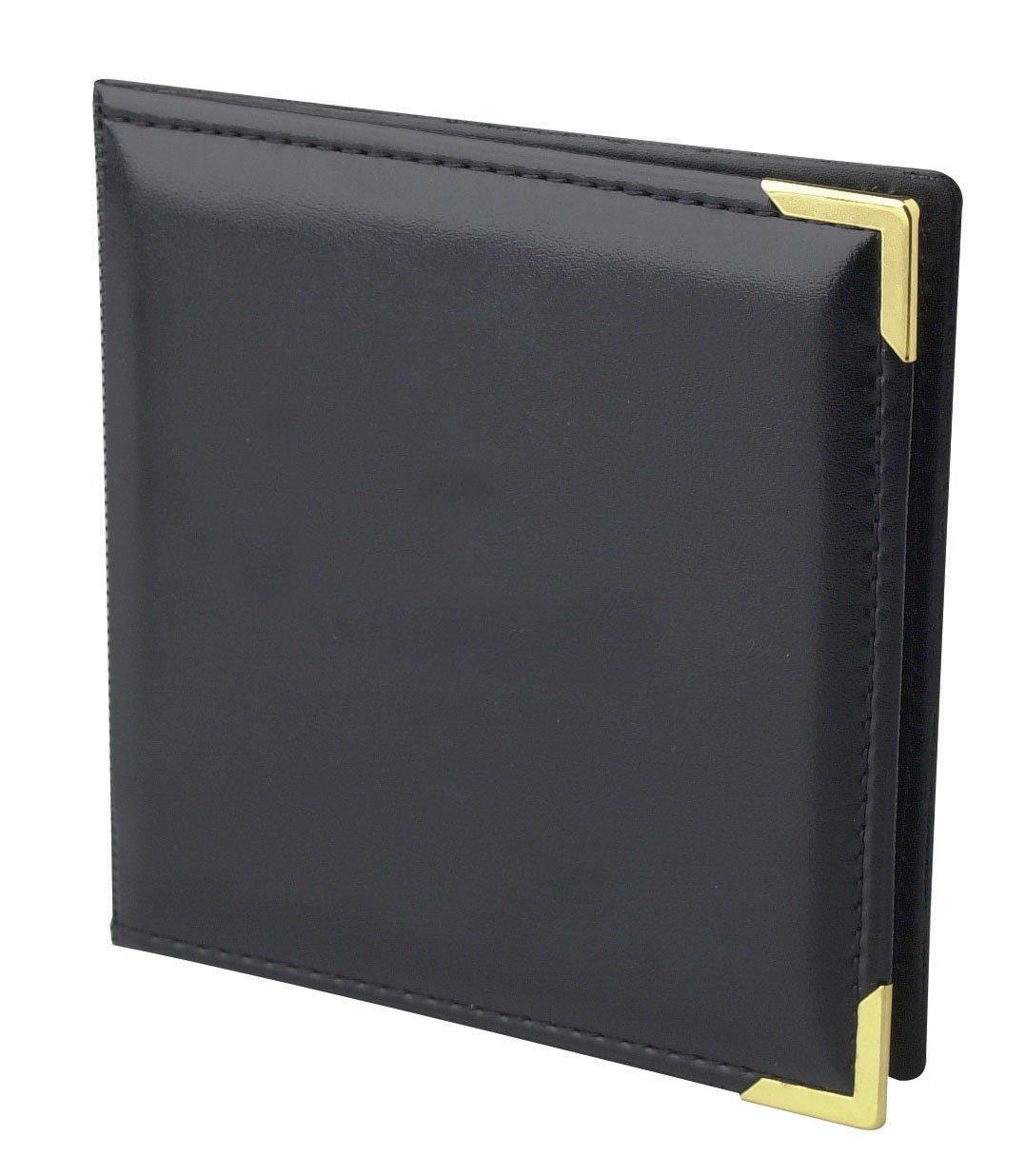 CD/DVD Memory Folio w/ Brass Corners - Case of 100