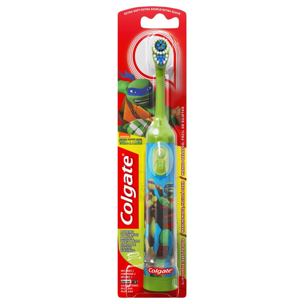 Colgate Nickelodeon Teenage Mutant Ninja Turtles Powered cepillo de dientes: Amazon.es: Salud y cuidado personal
