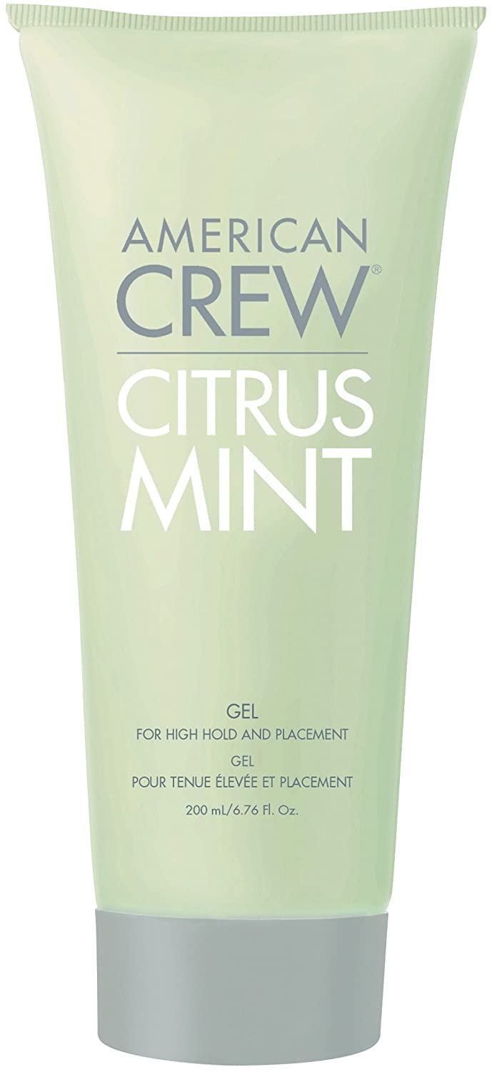New - AMERICAN CREW by American Crew CITRUS MINT GEL FOR HIGH HOLD AND PLACEMENT 6.7 OZ - 149566