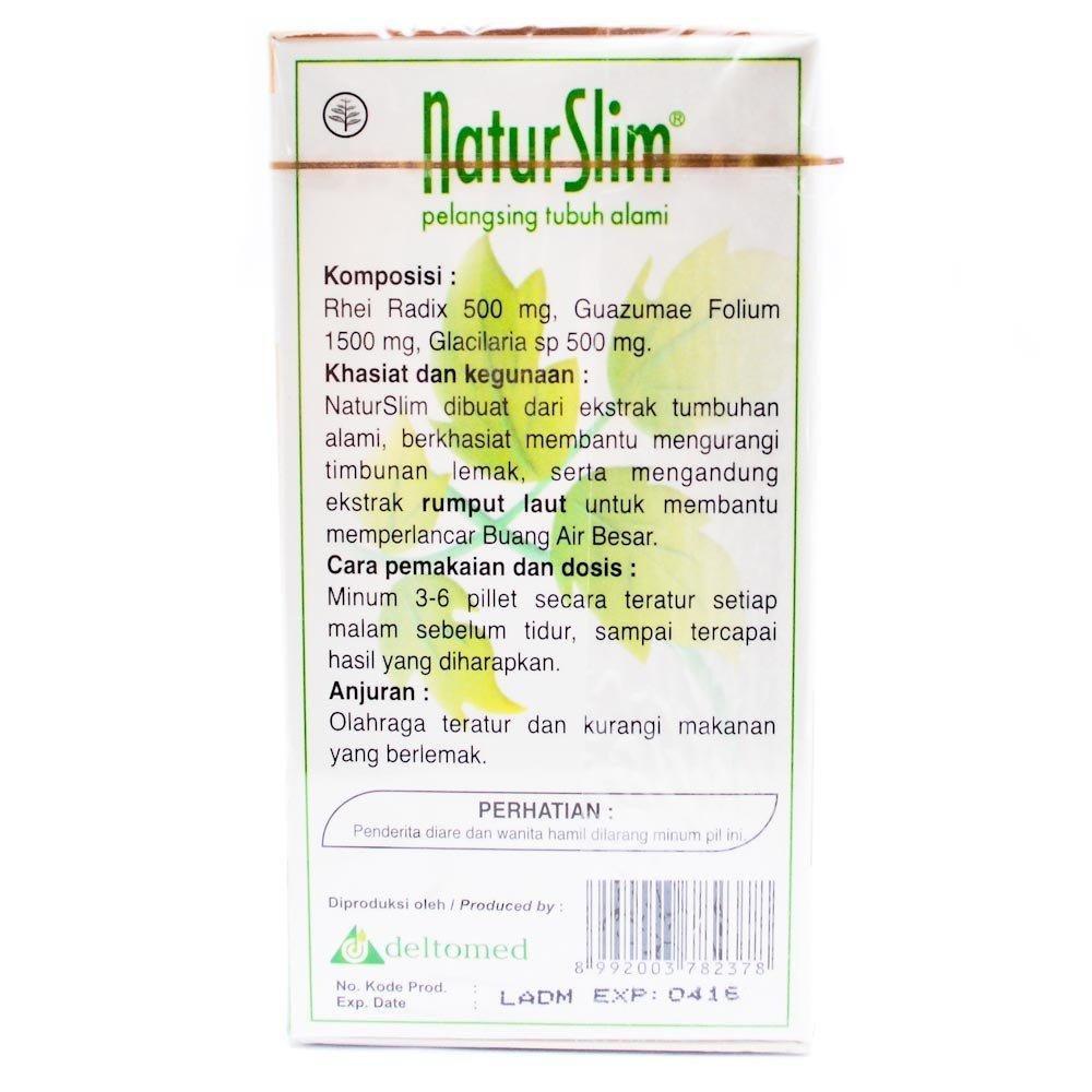 Amazon.com: NaturSlim (Natur Slim) Natural Slimming Pills for Men and Women, 1 Bottle (90 Pills): Health & Personal Care