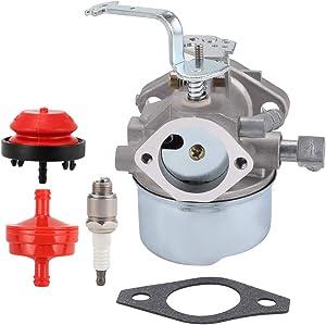 BQBS 640152 640023 Carburetor for Tecumseh HM80 HM90 HM100 640152A 640140 640051 640260 8-10 HP Engine Lawnmower Snow Blower Coleman PowerMate 5000w Generator