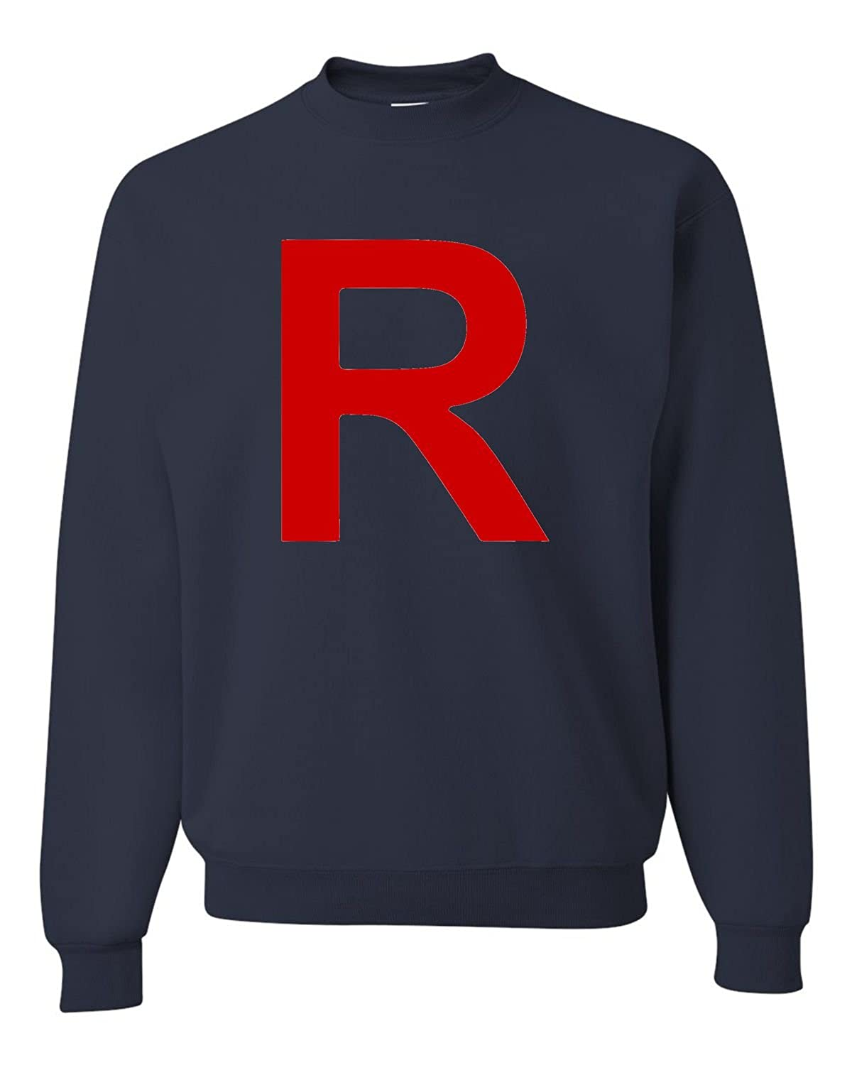 Go All Out Adult Team Rocket Sweatshirt Crewneck