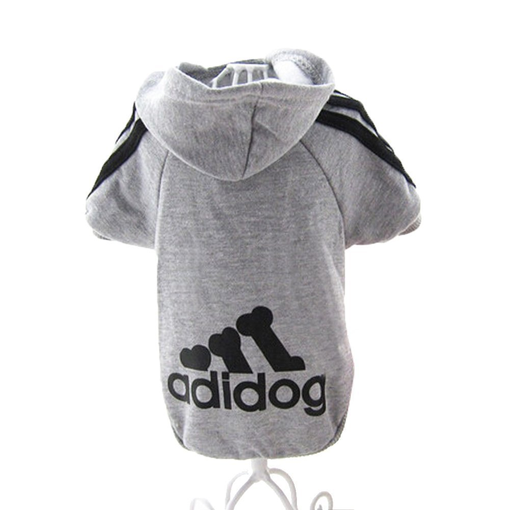 JUYUAN-EU V¨ºtements Pour Hoodie Chiens Adidog Sport Warm Pull Toutou Veste Manteau Chiot Animal Manteau T-shirt