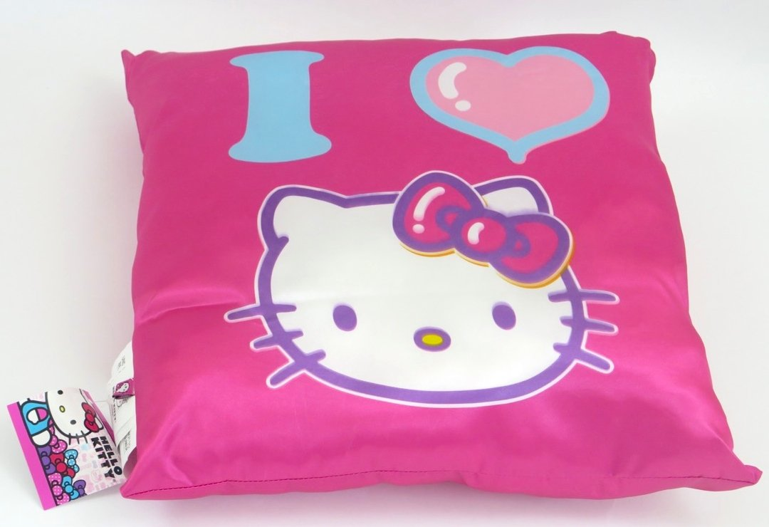 suncountry926 I Love Hello Kitty Pink Pillow, Soft and Warm. by suncountry926 (Image #1)