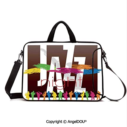 3742c8451d4d Amazon.com: AngelDOU Neoprene Printed Fashion Laptop Bag Colorful ...