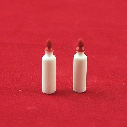 2 pcs enanos de botellas de leche, en botellas de plástico, para 1: