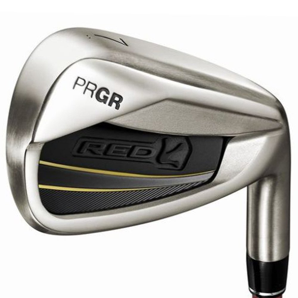PRGR(プロギア) RED 16RED TITAN FACEアイアン M35CB 5本セット #6-P RED 番手:#7 B01LCBG40U