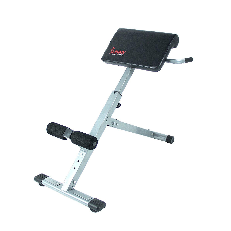 Sunny Health & Fitness SF-BH6629 45 Degree Hyperextension Roman Chair by Sunny Health & Fitness