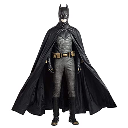 nihiug Superhéroe Liga de la Justicia Batman Warrior Cosplay ...
