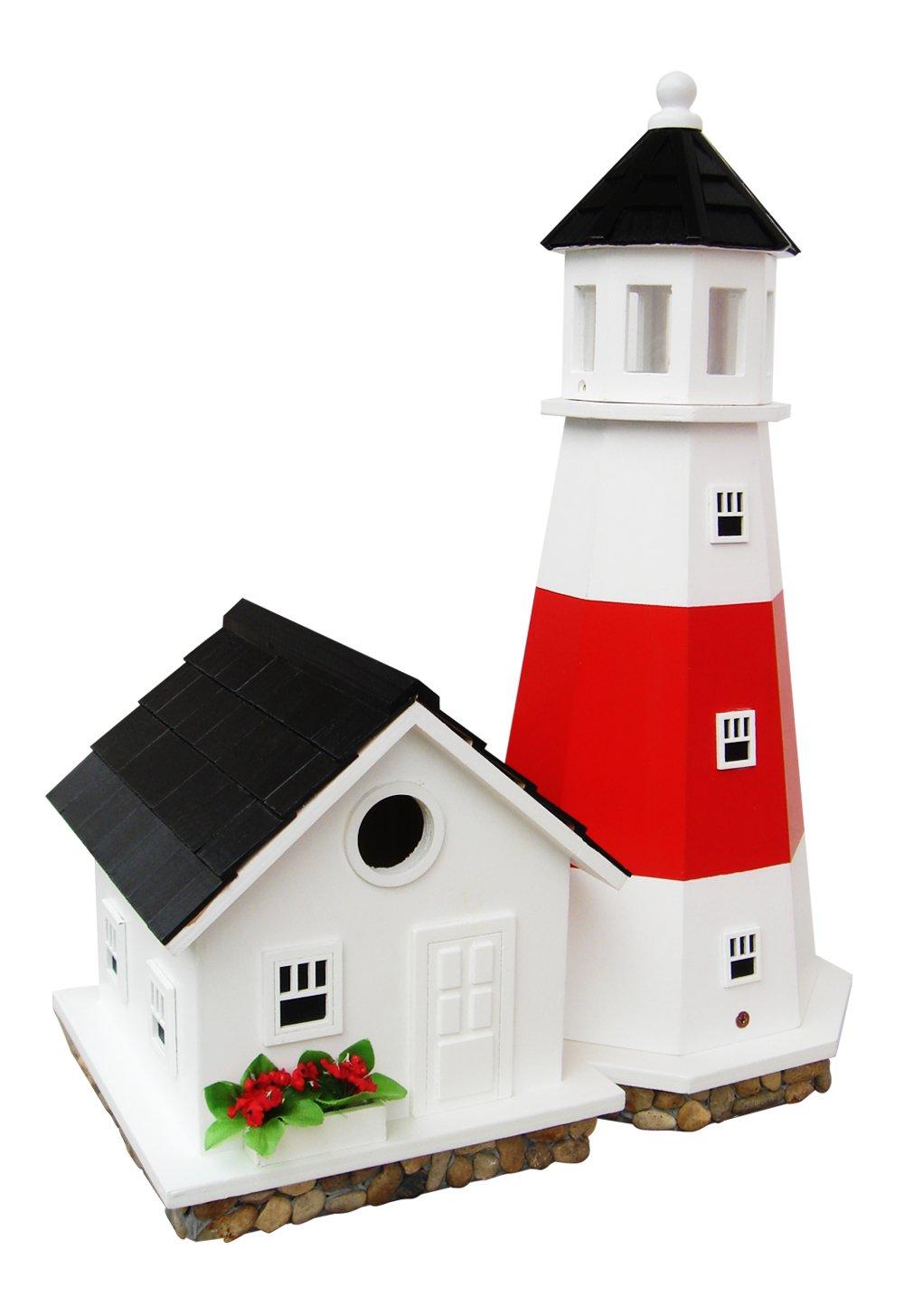 Home Bazaar Montauk Point Lighthouse Birdhouse by Home Bazaar, Inc.