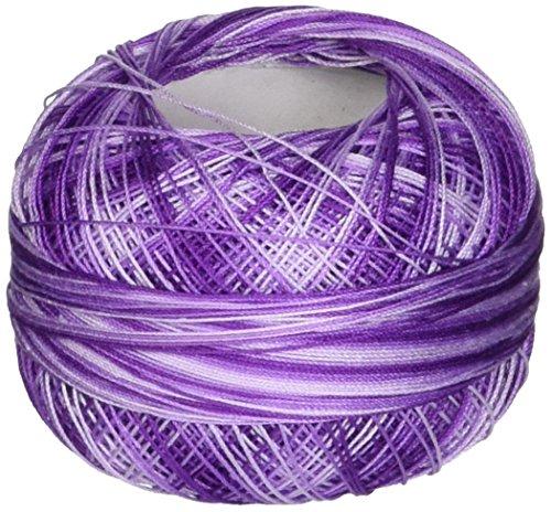 Handy Hands Lizbeth Size 80 HH80162 Cotton Thread, Purple Iris -