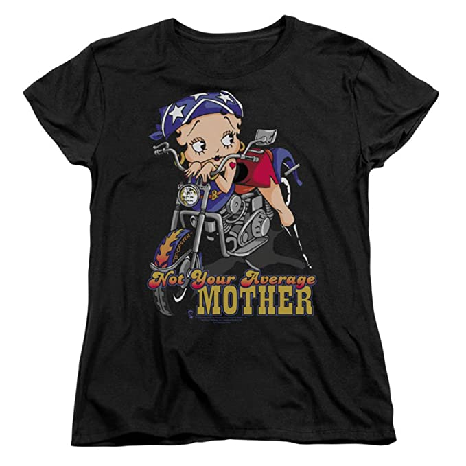 Amazon.com: Womens: Betty boop-not su media Madre Señoras ...