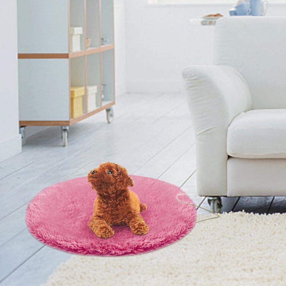 Lucky Family Tappetino Riscaldante per Cane E Gatto Cuscino Termico Elettrico per Animali Domestici Safe Tappetino Termico Elettrico Impermeabile Rimovibile Elettrico Pet Dog Letto Riscaldamento Pad