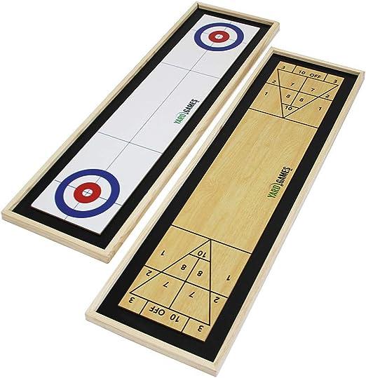 Yard Games Curling and Shuffleboard - Best Sturdy Model