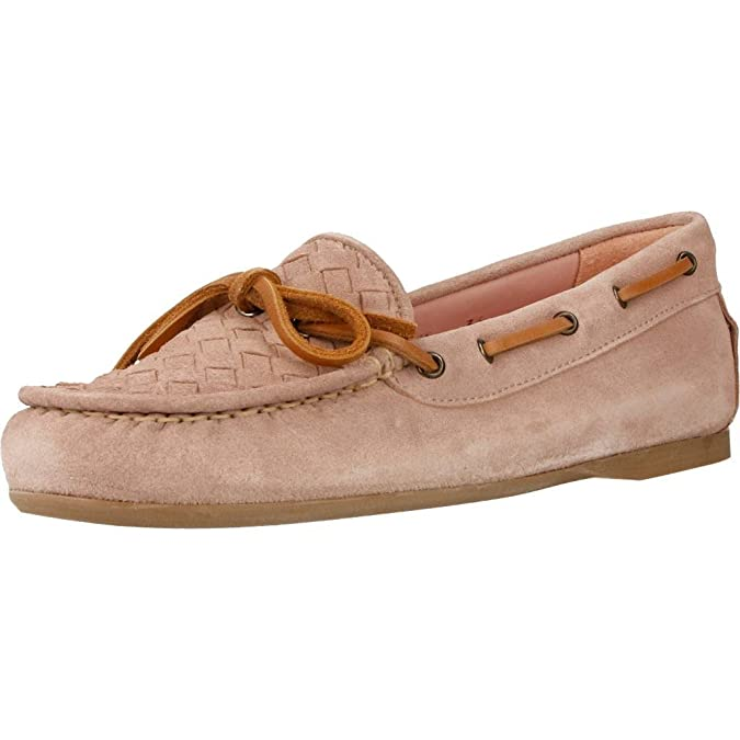 Mocasines para Mujer, Color Beige, Marca PRETTY BALLERINAS, Modelo Mocasines para Mujer PRETTY BALLERINAS 44699 Beige: Amazon.es: Zapatos y complementos