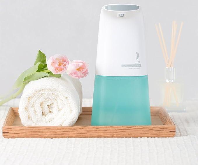 MIOIM dispensador para Shampoo con jabón dispensador de jabón para lavado de espuma inducs: Amazon.es: Hogar