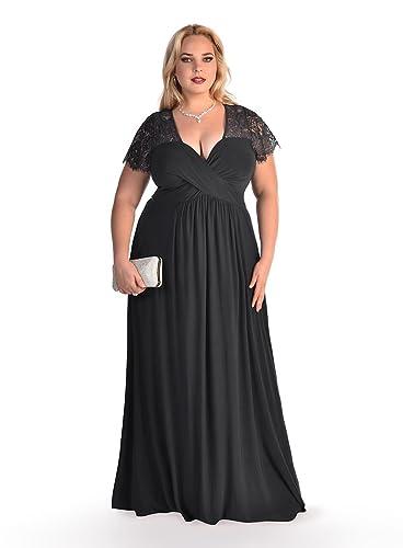 IGIGI Women's Plus Size Monica Gown in Black