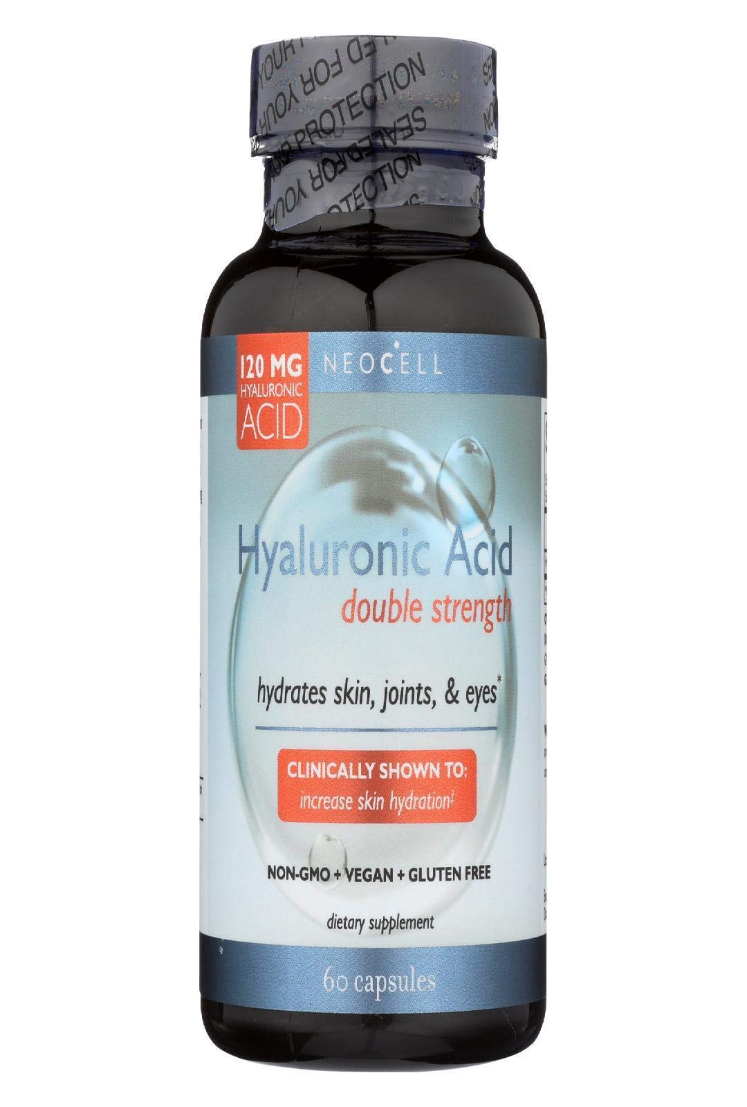 NeoCell - Hyaluronic Acid Double Strength - 60 Capsules