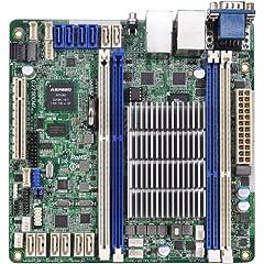 CPU(Included): Intel Avoton C2750 Processor (2.4GHz, Octa-Core); Chipset; N/A; Memory: 4x 240pin DDR3-1600/1333 DIMM Slots, Dual Channel, ECC, Unbuffered, Max Capacityof 64GB; Slots: 1x PCI-Express 3.0 x8 Slot; SATA: 8x SATA3 Ports; 4x SATA2...