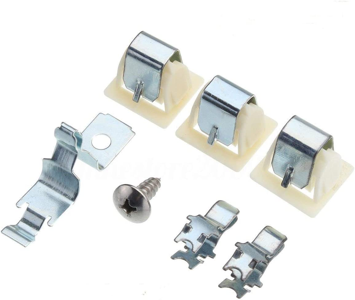 MAYITOP 279570 Dryer Door Latch Strike/Catch Kit Set For Kenmore Whirlpool KitchenAid PS334230 AP3094183