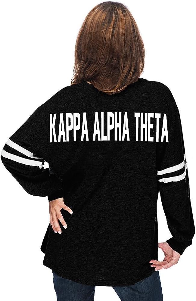 Kappa Alpha Theta Varsity Pom Pom Jersey T