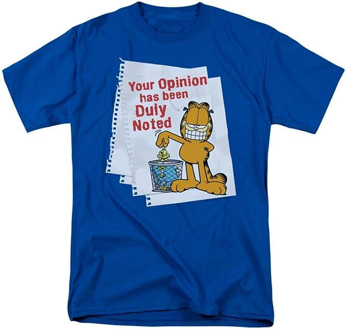 Garfield Comic Cat RETRO GARF Licensed Women/'s T-Shirt All Sizes