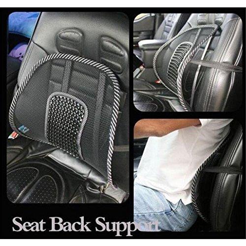Seat Cushion, Essort Comfortable Mesh Lumbar Back Support Cushion ...