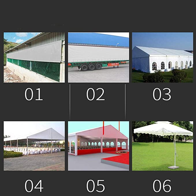 Lona Impermeabilizante, Tela Impermeable, Protector Solar, Cubierta, ponche De Lluvia, Toldo, Toldo, Toldo, 2x3m (Tamaño : 3x4m): Amazon.es: Jardín