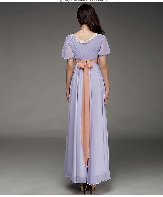 Formaldresses Titanic Rose Chiffon Celebrity Dress Evening Dress Prom Gown Maxi Dress at Amazon Womens Clothing store: