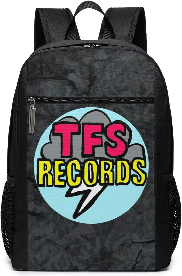 DOMINICHIGGINS Shoulder Bag Travel Rucksack Tropical Fuck Storm Daypack Black