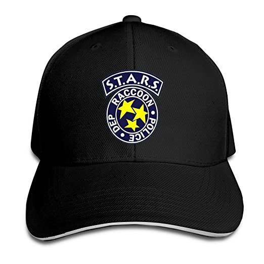 Hittings Residentevil Resident Evil S.T.A.R.S Logo Flex Baseball Cap Black  Black  Amazon.co.uk  Sports   Outdoors 1acec84dfa4a
