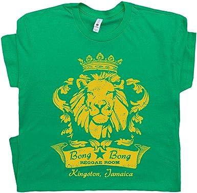 Jamaica Lion Womens Reggae T-Shirt Jamaican Bob Marley Flag Rastafarian Rasta