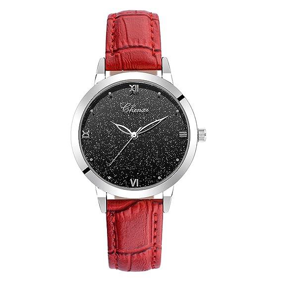 Relojes Mujeres Impermeable Deporte Analógico Cuarzo Elegantes Modernas Reloj Mujer Dress Slim Reloje de Pulsera con