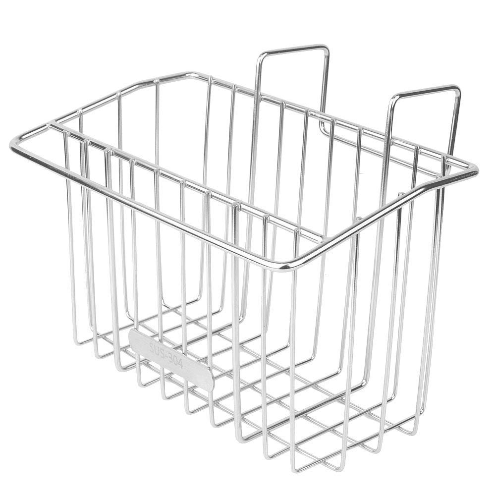 Kitchen Sink Caddy Sponge Holder 304 Stainless Steel Brush Towel Soap Drain Rack (With Hook)