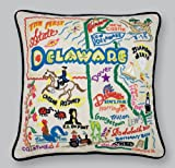 Delaware State Pillow by Catstudio