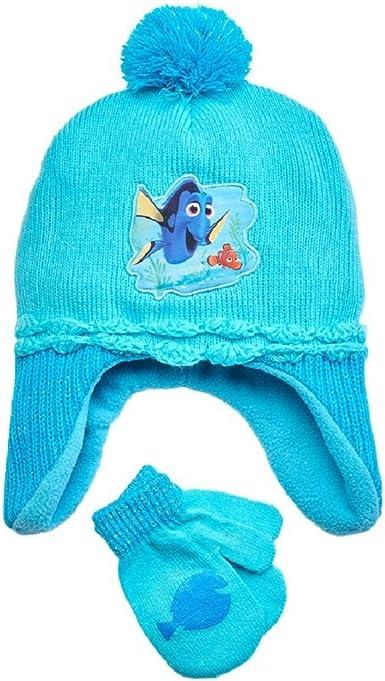 Disney Child Nemo Knit Peruvian Hat and Glove Set