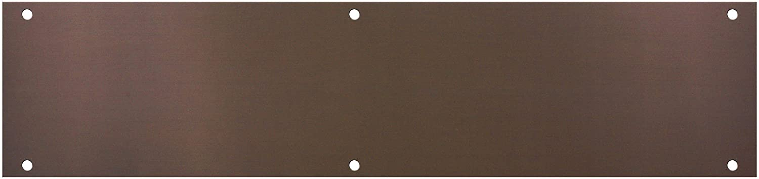 "National Hardware V1981 3-1/2"" X 15"" Push Plate in Antique Bronze"