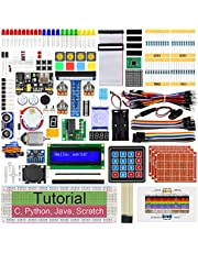 Freenove Ultimate Starter Kit for Raspberry Pi 4 B 3 B+ 400, 561-Page Detailed Tutorials, Python C Java Scratch Code, 223 Items, 72 Projects, Solderless Breadboard