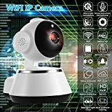 Hindom WiFi Camera, Wireless 720P HD Baby Monitor Home Security Surveillance IP Camera with 2 Way Audio, Night Vision, Remote Viewing by App for Baby /Elder/ Pet/Nanny Monitor (US STOCK)