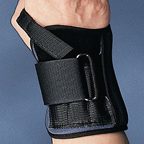Sammons Preston 55476103 Mini Wrist Support, Small, Left Hand, Adjustable Immobilizer for Muscle and Joint Recovery in the Wrist, Fixed Position Stabilizer