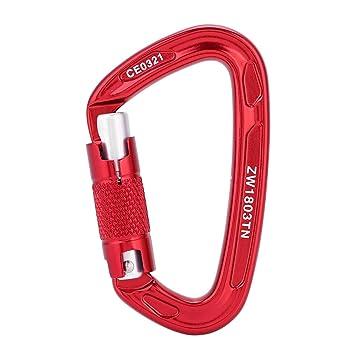 Professional Carabiner Clip Hook Heavy Duty Outdoor Rock Climbing Safety Lock