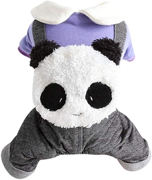 Handfly Disfraz de Panda para Perro Disfraz de Navidad para Perro ...