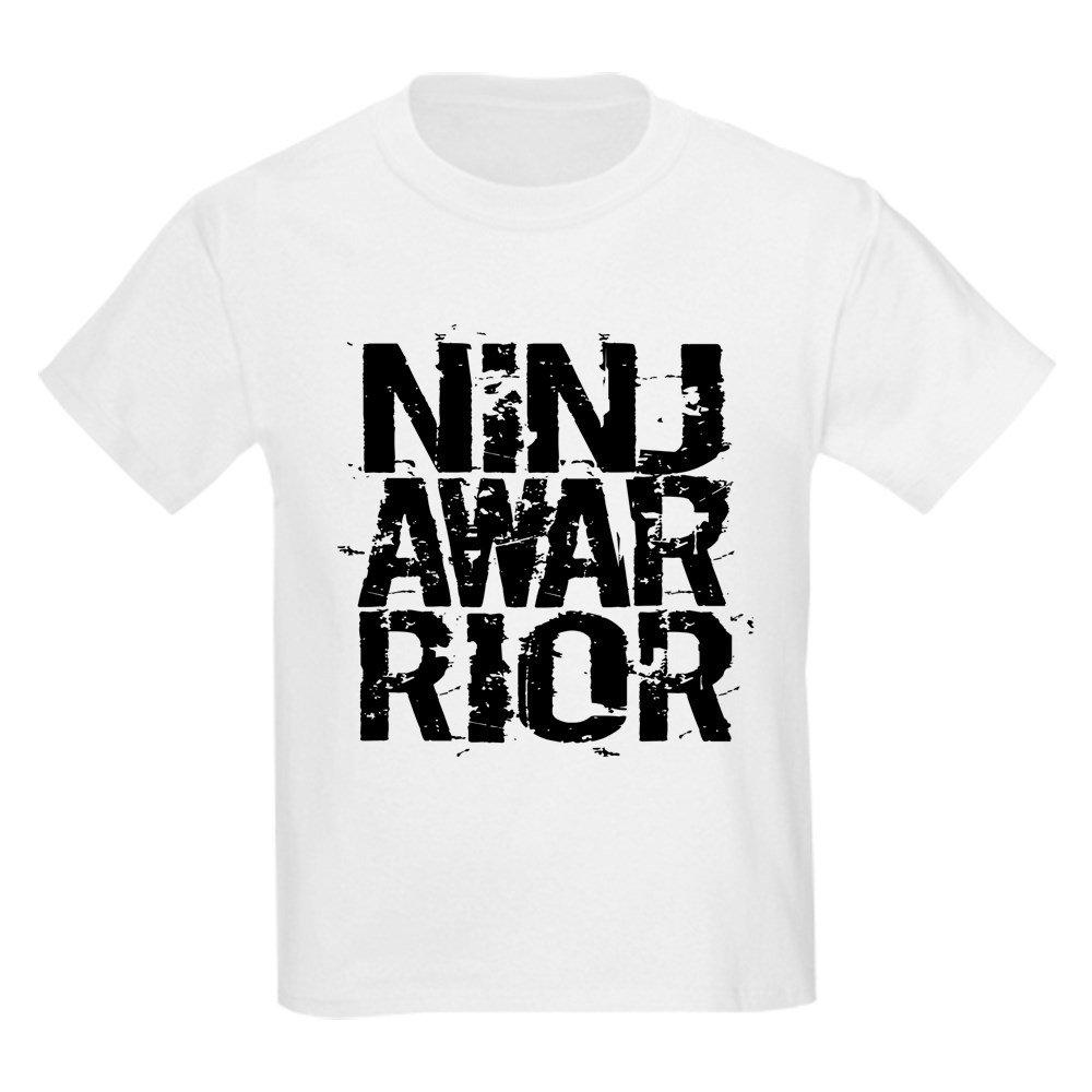 CafePress - NINJA WARRIOR - Youth Kids Cotton T-shirt