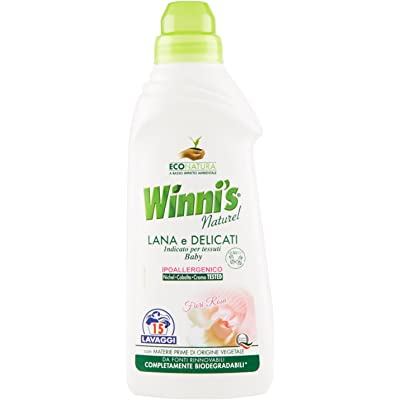 Winni's – Detergente para lana y delicados, hipoalergénico, flores de rosa – 750 ml