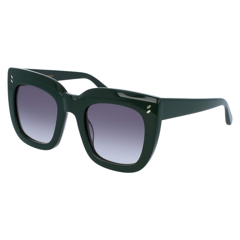Stella McCartney SC0033S 003 Gafas de Sol, Verde (003-Green ...