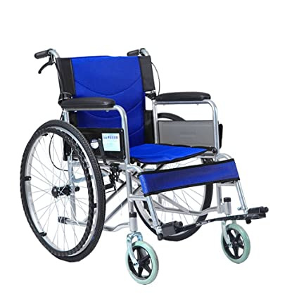 Image of: Electric Wheelchair Image Unavailable Amazoncom Amazoncom Ms Wheelchair Folding Wheelchair Old Peoples