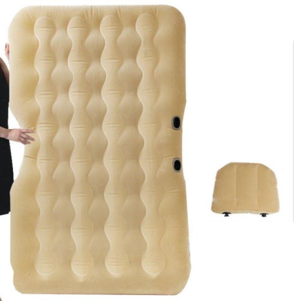 ERHANG Luftmatratzen Luftbetten Betten Luftmatratzen Outdoor Reise Bett Auto Bett Aufblasbare Bett Camping Schlafmatte,Beige