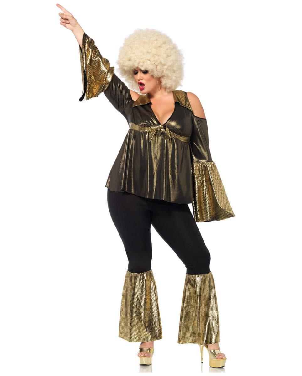 Horror-Shop Disco Diva Plus Disfraces De Halloween 3X/4X ...
