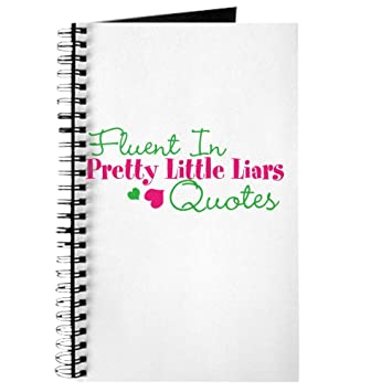 Liars Quotes   Cafepress Pretty Little Liars Quotes Tagebuch Standard Blank Amazon