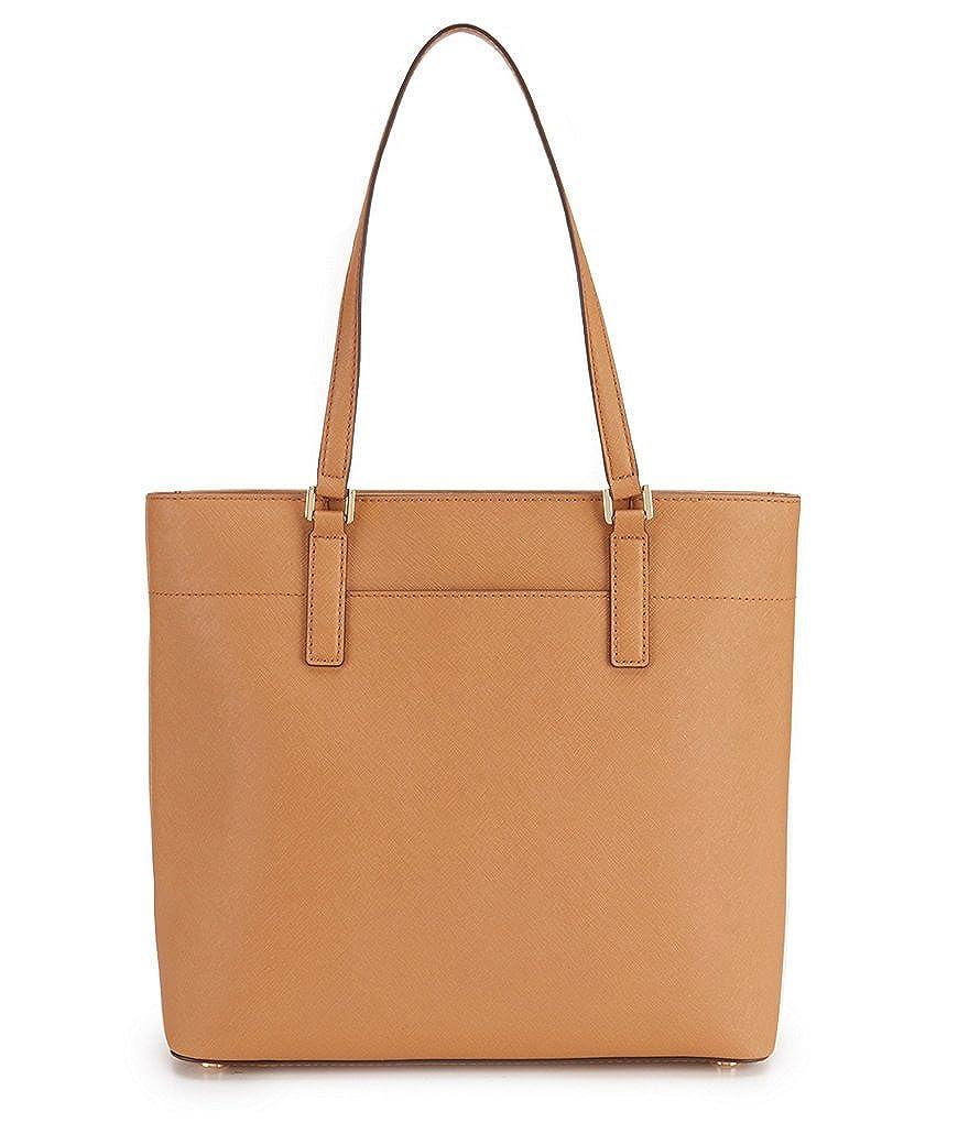 122b80d7efe8 Amazon.com  MICHAEL Michael Kors Womens Morgan Pebbled Carryall Tote  Handbag Brown Large  Shoes